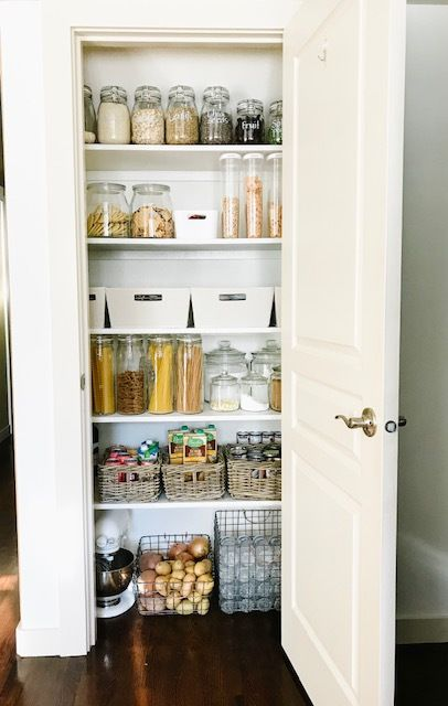 Small Pantry Makeover In 2020