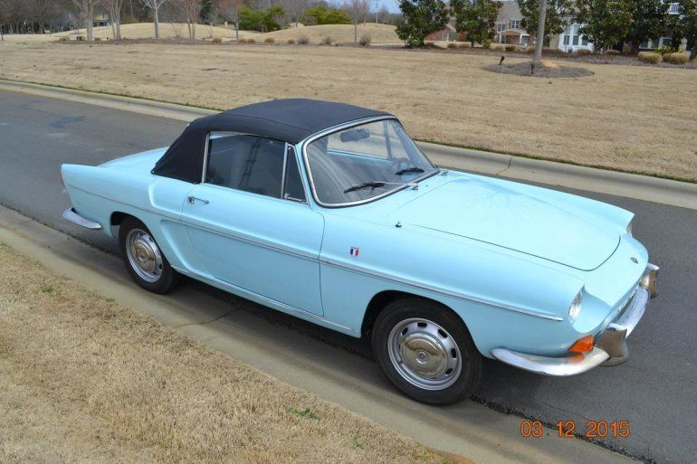 1966 Renault Caravelle For Sale 1727738 Renault Cars For Sale Automotive