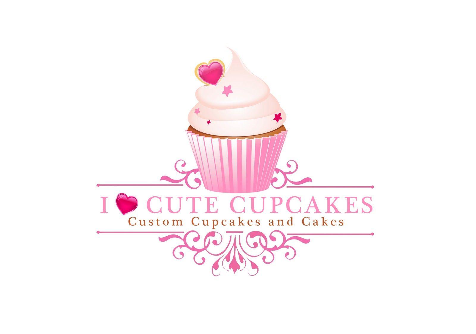 Cupcake Logo Cupcakes Patissiere Affiche