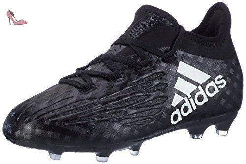 new concept 48493 4f5c4 adidas X 16.1 Fg J, Chaussures de Football Mixte Enfant, Noir (C Black