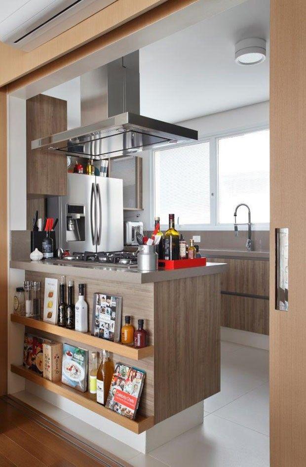Cobertura com décor leve e espaços integrados (Foto: MCA Estúdio / divulgação)