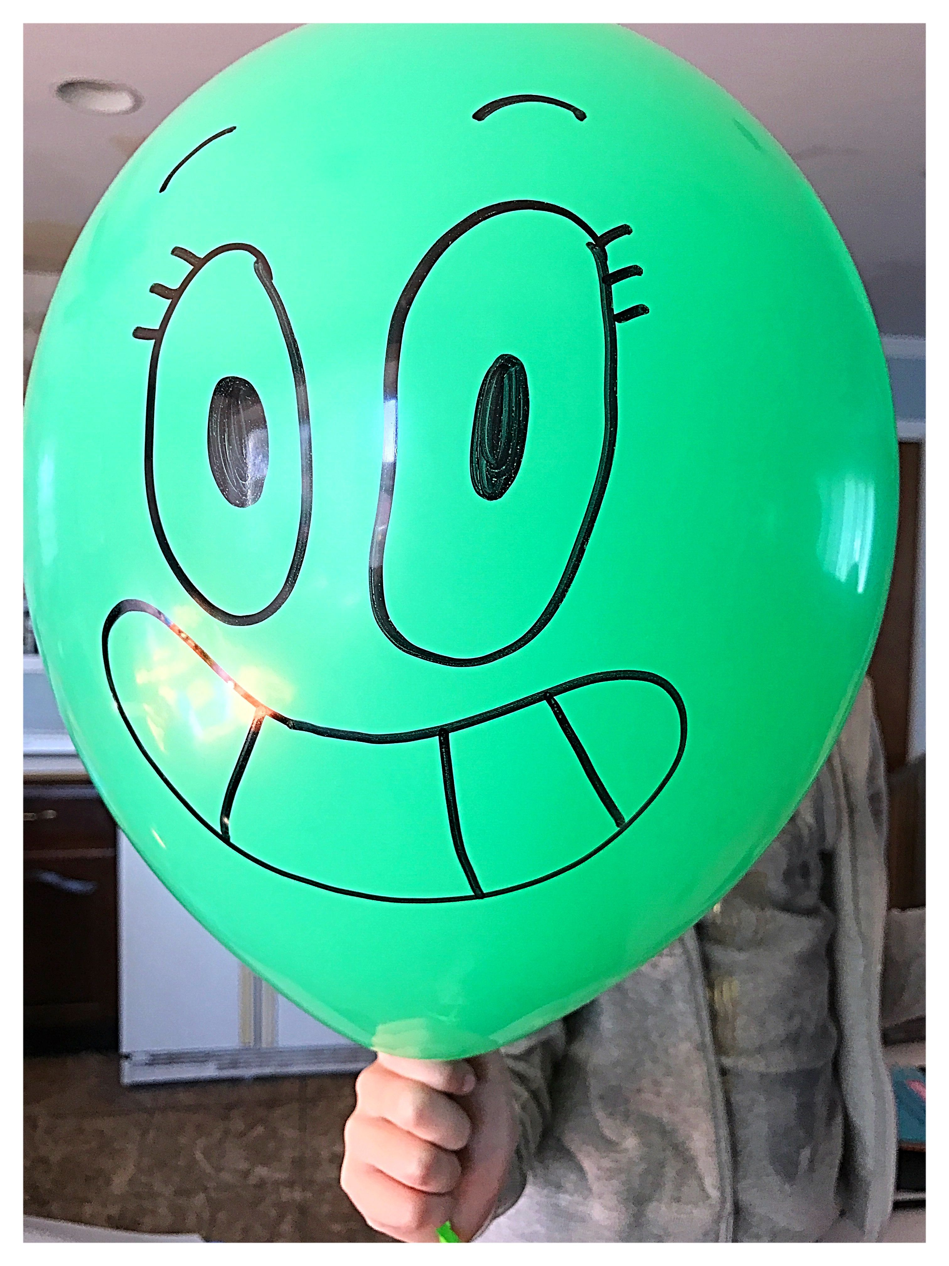 Made Our Own Alan Balloons With Images The Amazing World Of