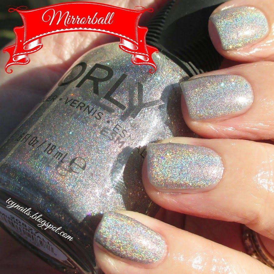 Icy Nails: Orly Mirrorball | Nails. Polish. Nail Art. | Pinterest ...