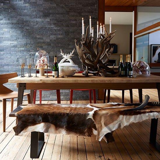 Esszimmer wohnideen m bel dekoration decoration living for Weihnachtsideen dekoration