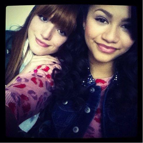 Me and Zendaya #BellaThorne