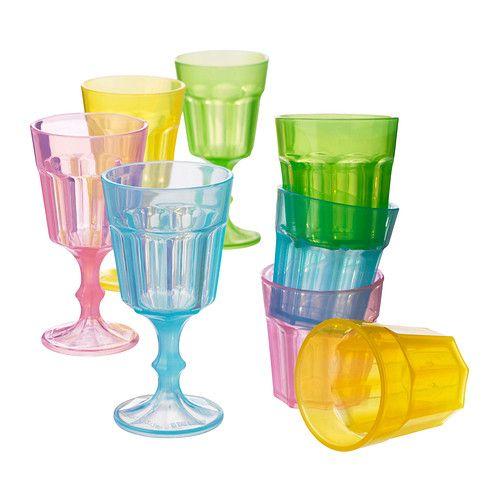 duktig verre multicolore ik a salles de jeux et jeu On verres à boire empilables ikea