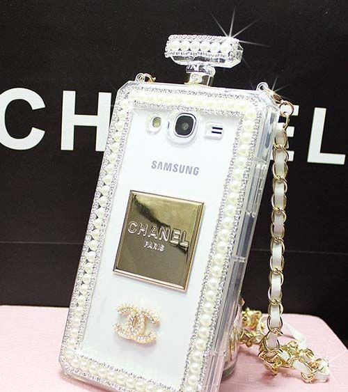 the best attitude f2c5b 7f866 Luxury bling crystal chanel perfume bottle case for iphone 6/6 plus ...