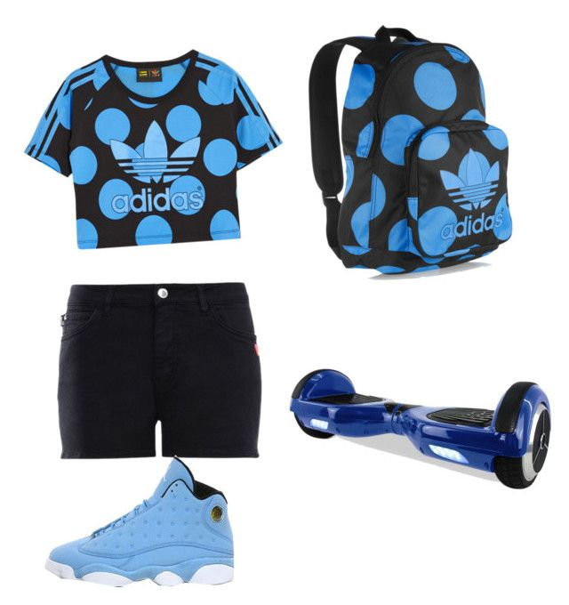 """""""by Jojo"""" by kaejaee on Polyvore featuring adidas Originals, Love Moschino and NIKE"""