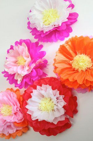 forma de flores