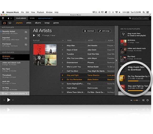 Amazon Music with Prime Music [Mac] http//www