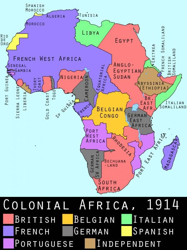 Berlin Conference Africa Colonization Map.The Berlin Conference Of 1884 85 The General Act Of The