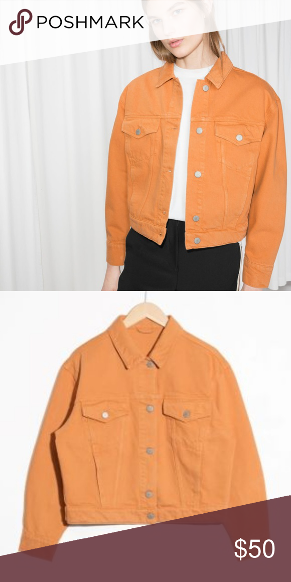 acae77f2f BNWT &otherstories Cropped Denim Jacket &otherstories great looking ...