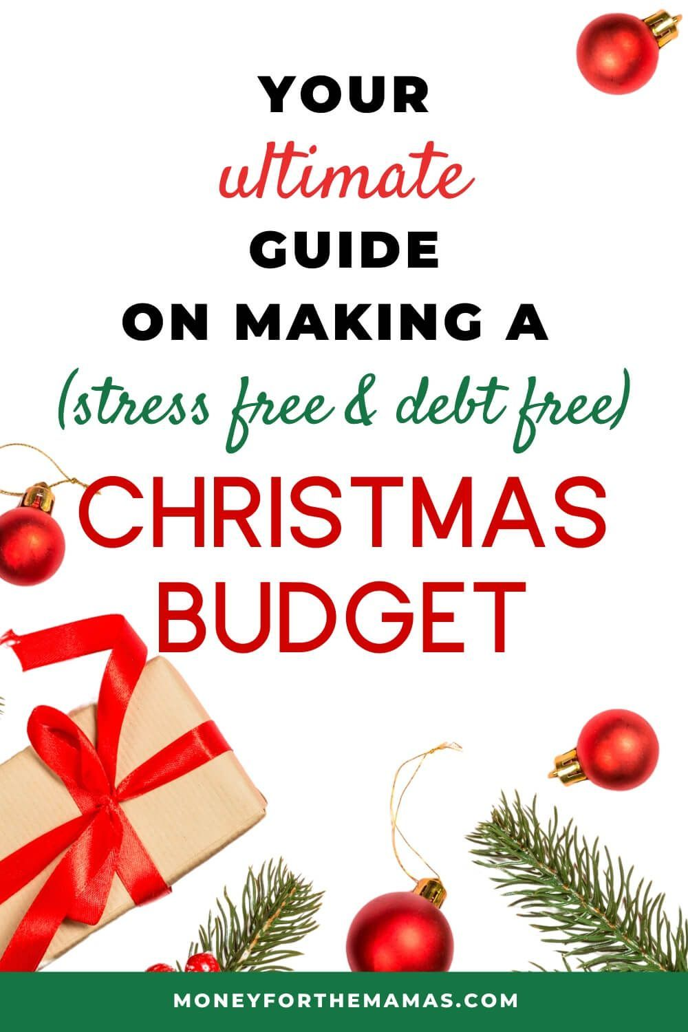 Fres Christmas Money 2020 Your Ultimate Guide to a Stress Free (and Debt Free) Christmas