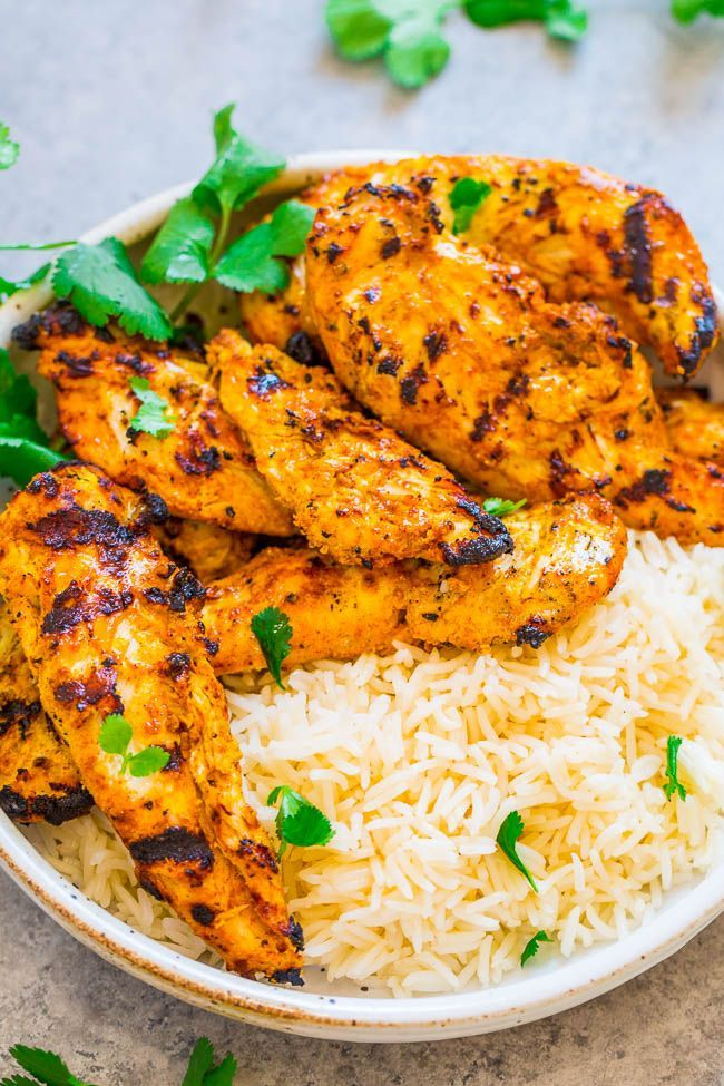 Grilled Tandoori Chicken Recipe (Easy & Juicy!) - Averie Cooks
