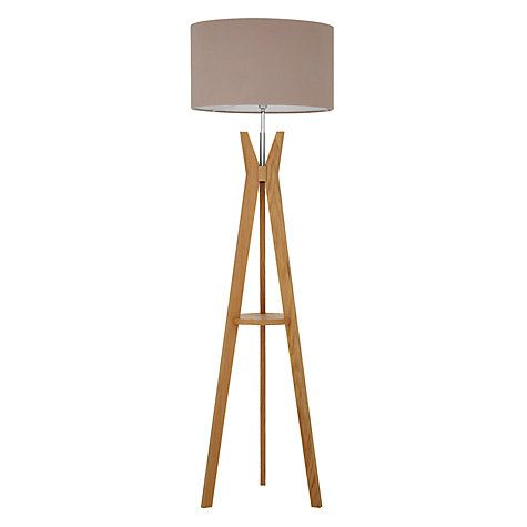Buy trafalgar oak tripod floor lamp online at johnlewis liat buy trafalgar oak tripod floor lamp online at johnlewis mozeypictures Choice Image