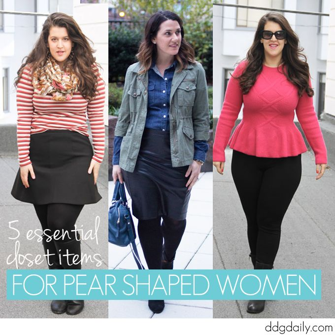 Shop your shape: 5 essential closet items for pear shaped women ...