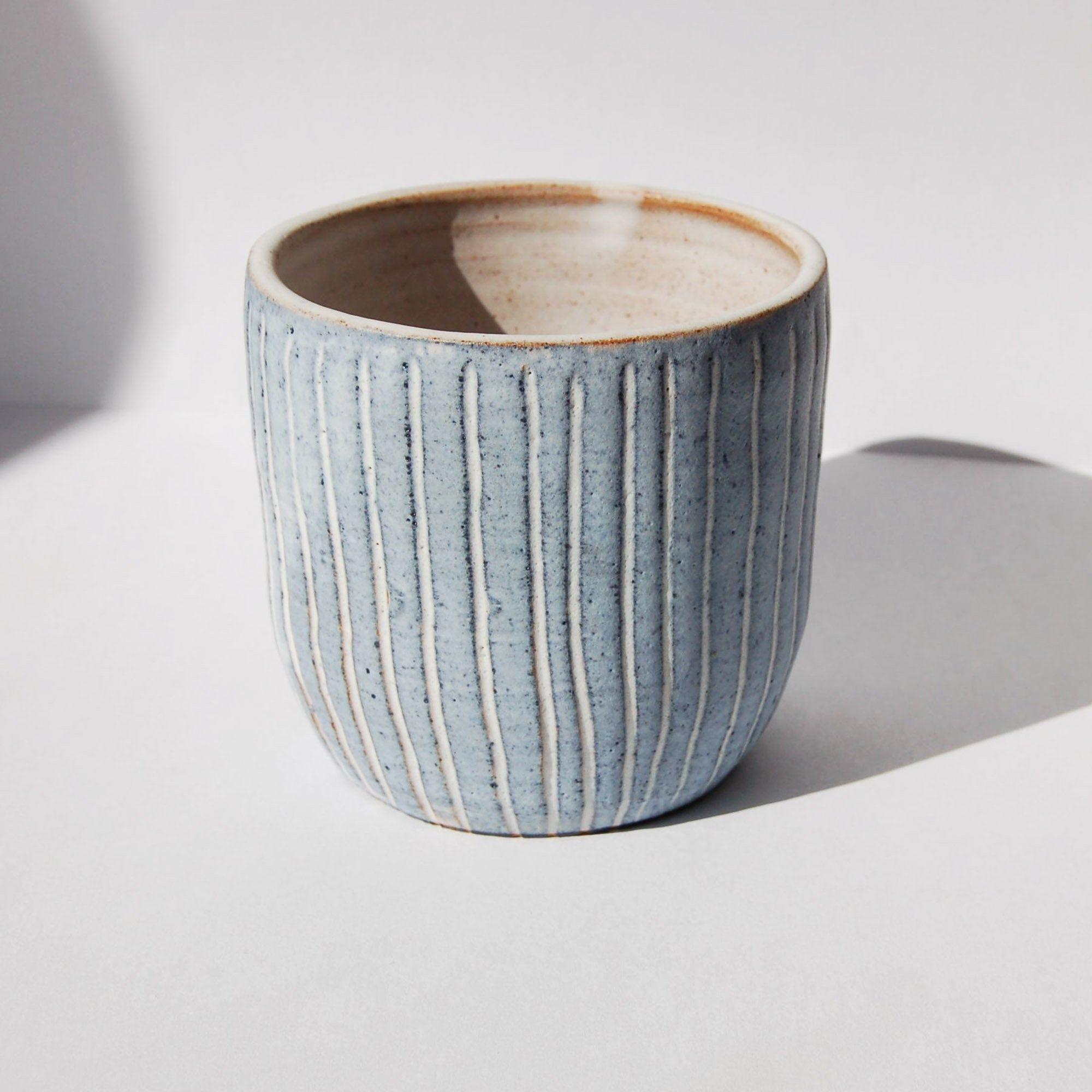 Ceramic Pot With Drainage Hole