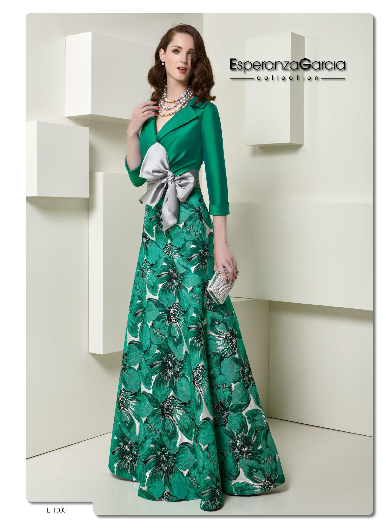 EsperanzaGarcia #vestidodefiesta #verde #nuevacolección | vestidos ...