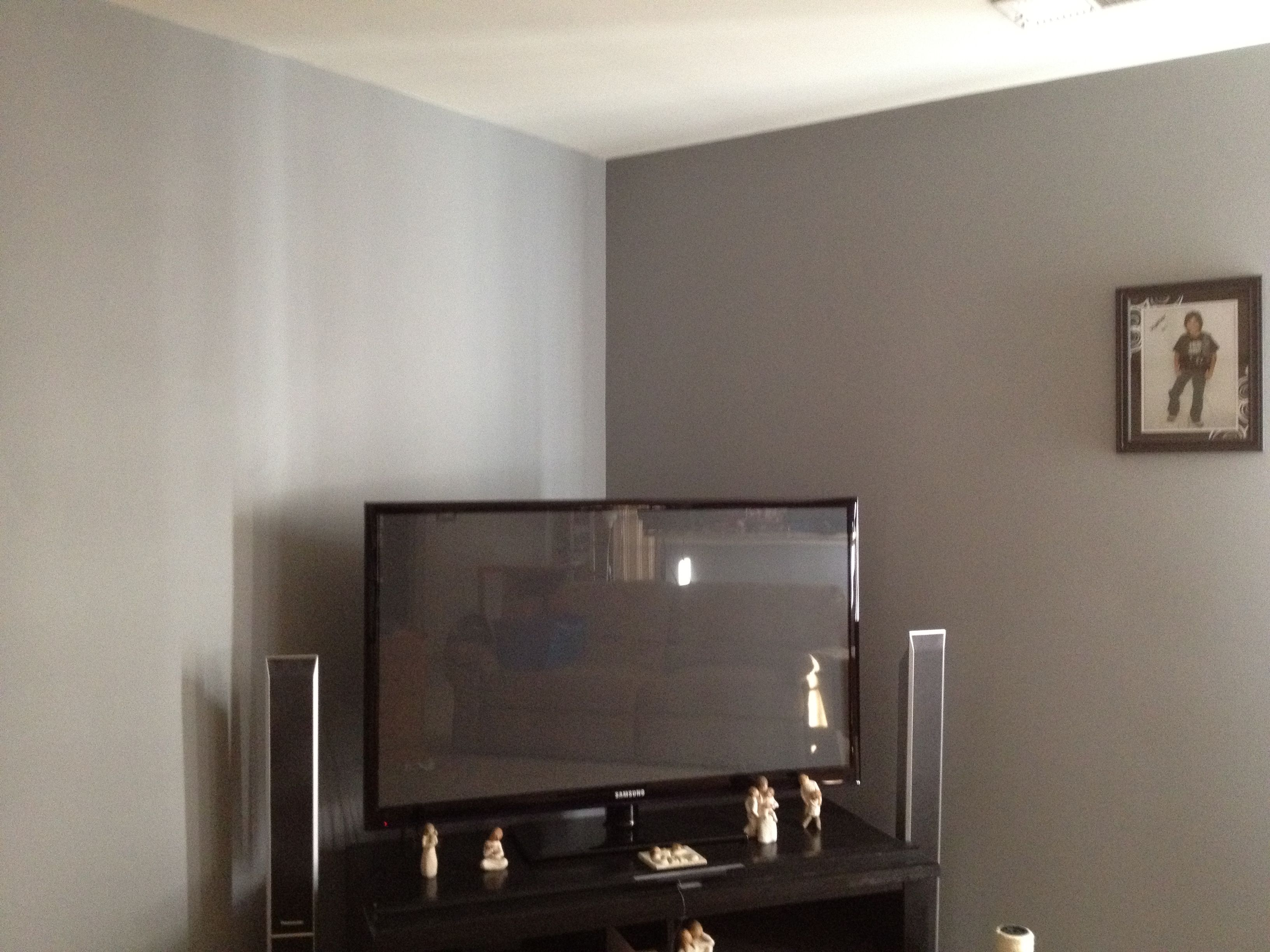 Paint Wall The Desired Color Flat Chose Granite Grey Colors Light Walls Gray