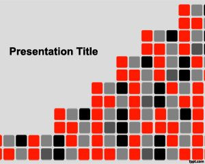 Pixel art template for powerpoint is a free template for pixel art template for powerpoint is a free template for powerpoint presentations with black white toneelgroepblik Image collections