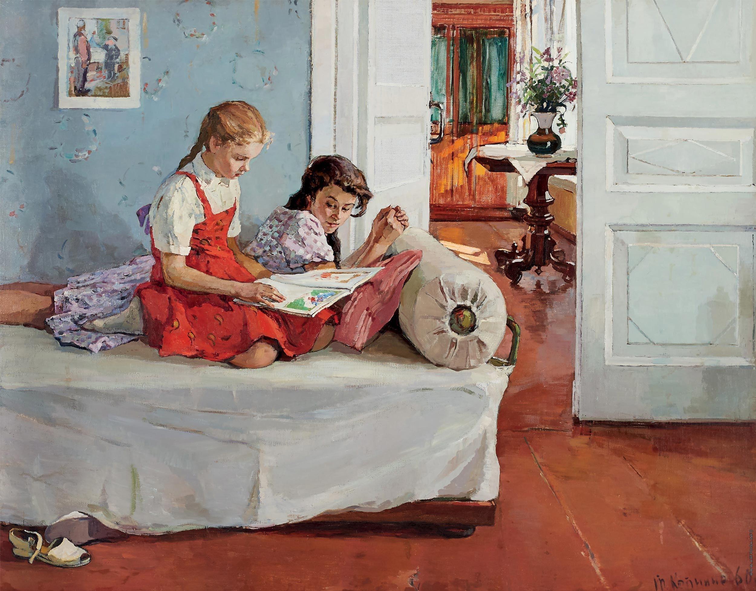советский быт в картинах художников хитом стали ассиметричные