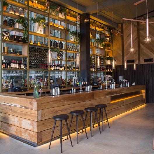 2016 Restaurant Bar Design Awards Announced The Refinery Regent Place London Uk Fusion Dna Bar Design Restaurant Bar Design Awards Bar Interior Design