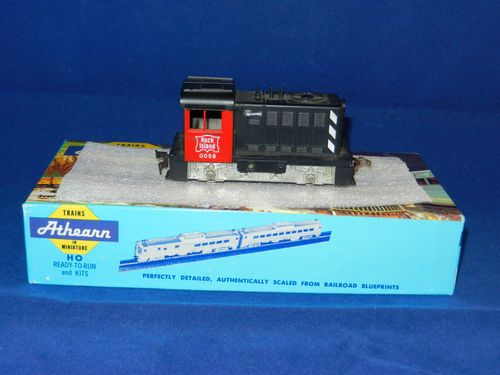 Athearn hustler switcher
