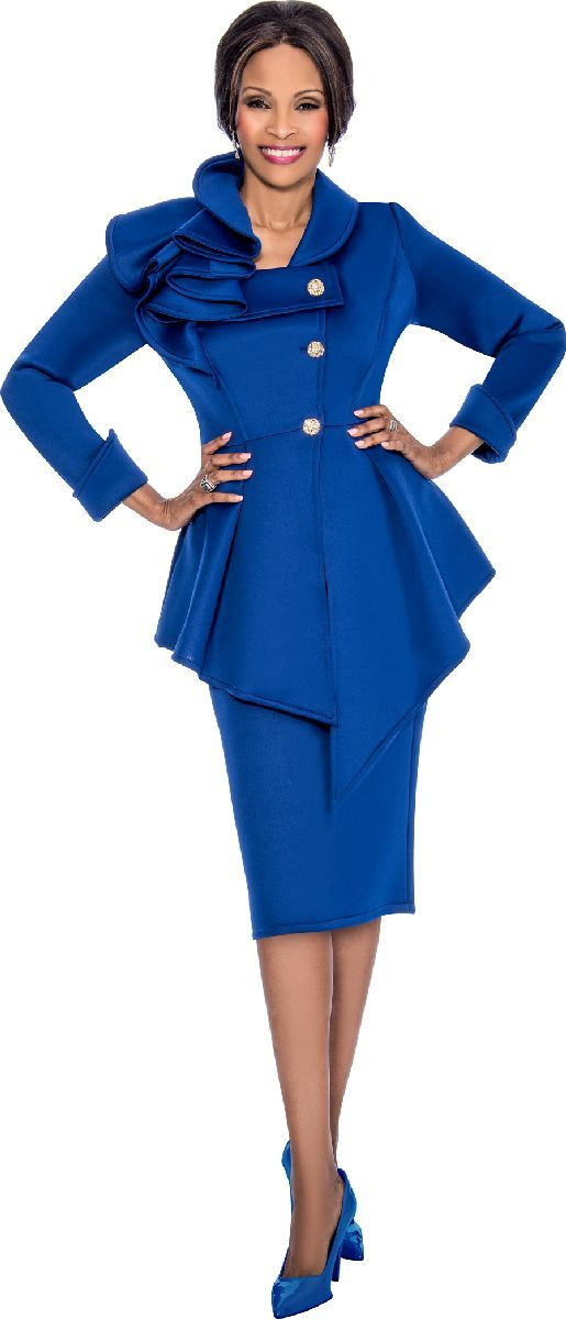 5081669fe4 Check out the deal on Susanna 3829 Ladies Peplum Church Suit at French  Novelty
