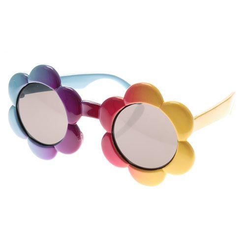 2123a09b53705a Lunettes de soleil fleurs pour enfants   ☻ Lunettes ☻   Lunettes ...
