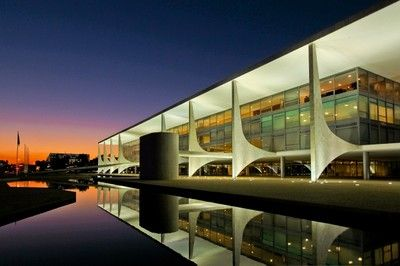 Palácio do Planalto, Brasília, Brasil.