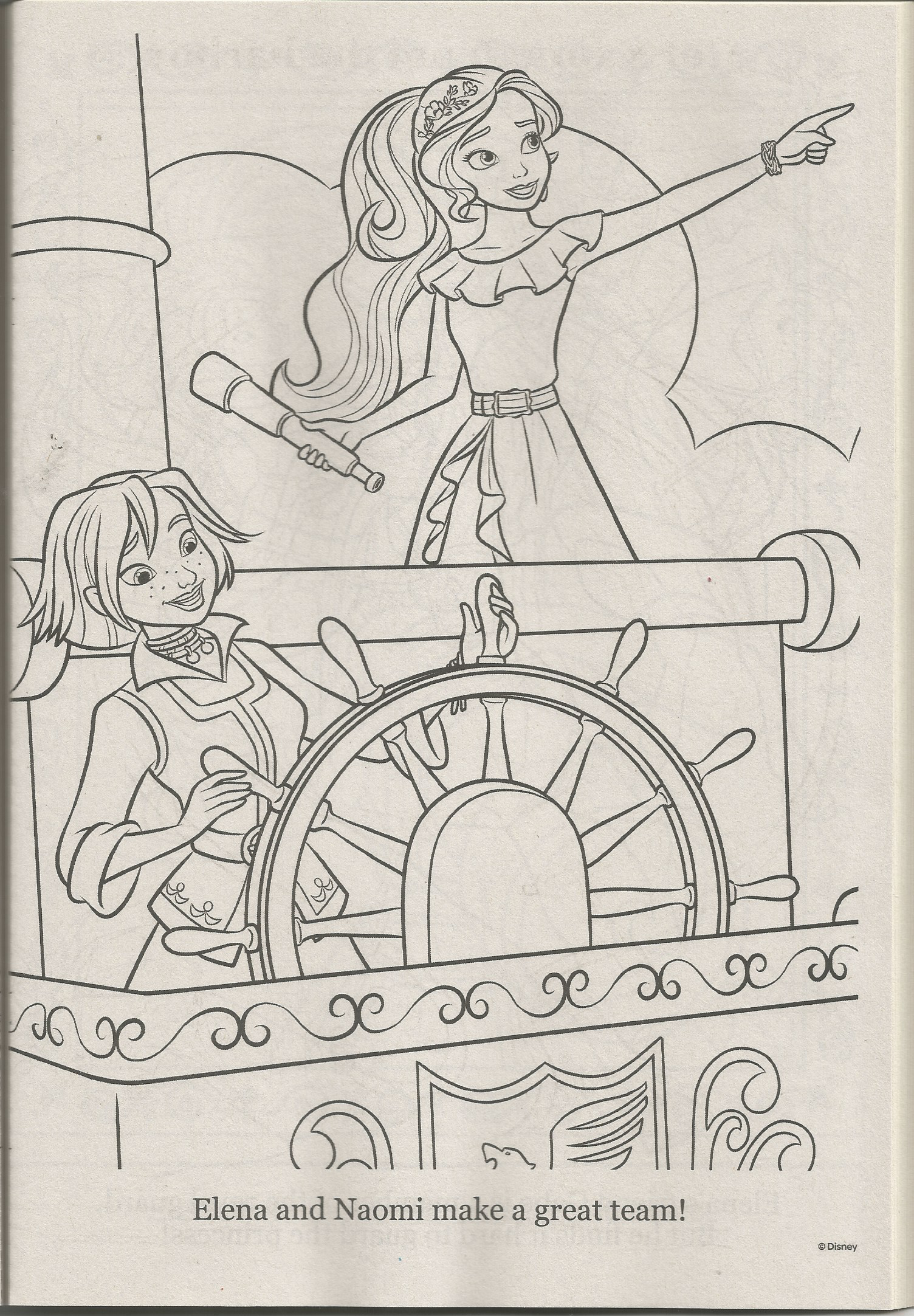 Elena Of Avalor Coloring Page Coloring Pages Disney Coloring Pages Color [ png ]