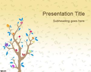 Cartoon tree powerpoint template educationassroom cartoon tree powerpoint template toneelgroepblik Images