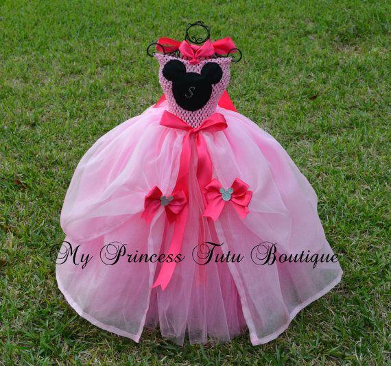 Vestido de minnie princesa
