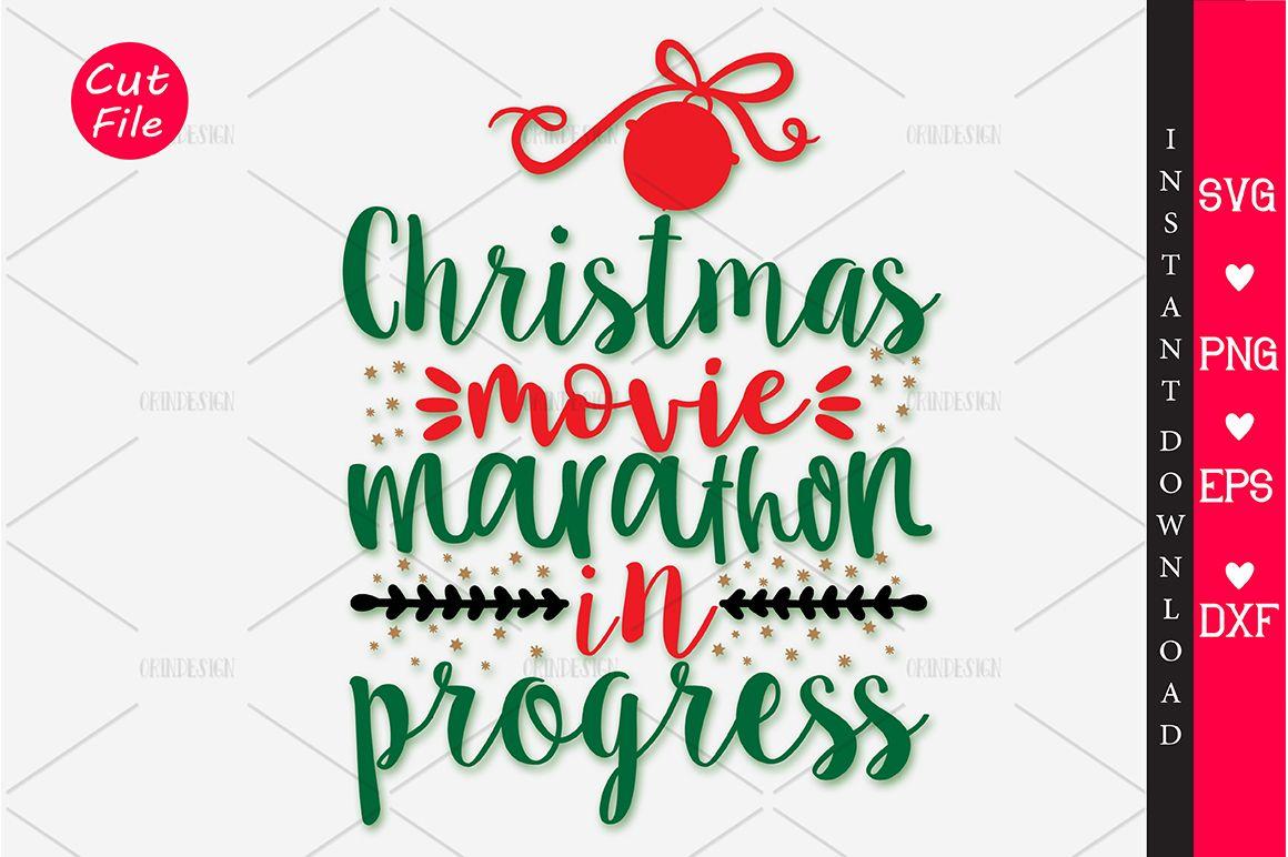 Christmas Movie Marathon In Progress Svg Graphic By Orindesign Creative Fabrica Christmas Movies Vintage Graphic Design Movie Marathon