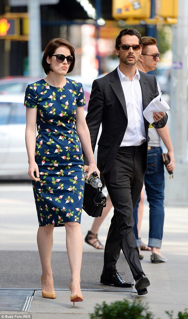 Downton Abbey Star Michelle Dockery Engaged To John Dineen Michelle Dockery Star Fashion Floral Outfit Dineen has served on the board of directors of merrimack pharmaceuticals, inc. downton abbey star michelle dockery