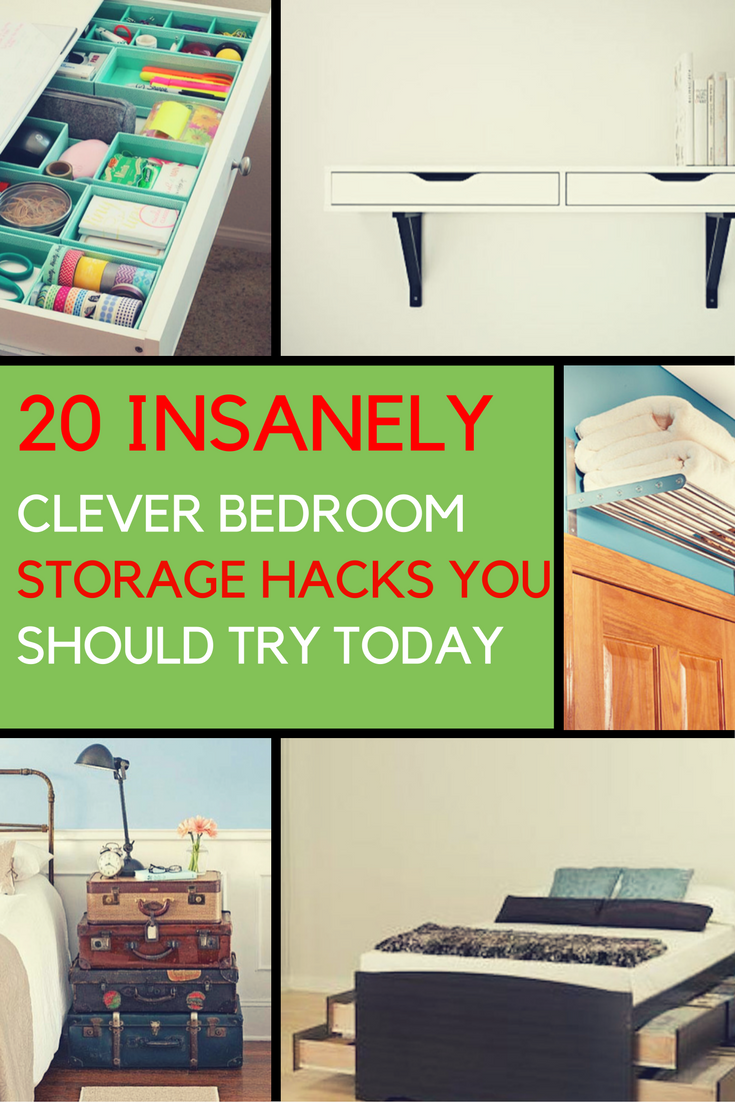Bedroom Storage Ideas: 20 Clever Ways to Organize Your ...