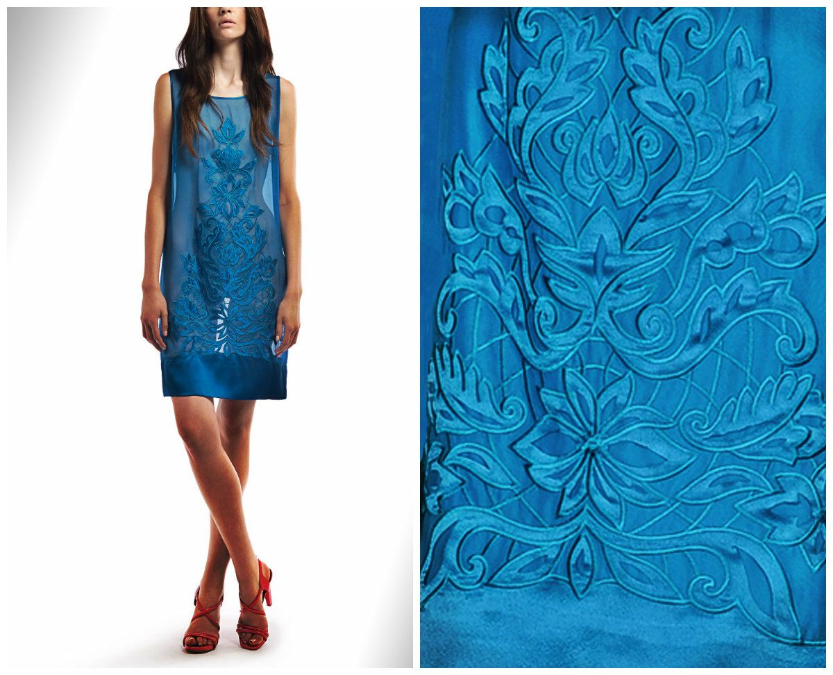 Discover #Philosophy di #Alberta Ferretti dress with #decoration on the online boutique