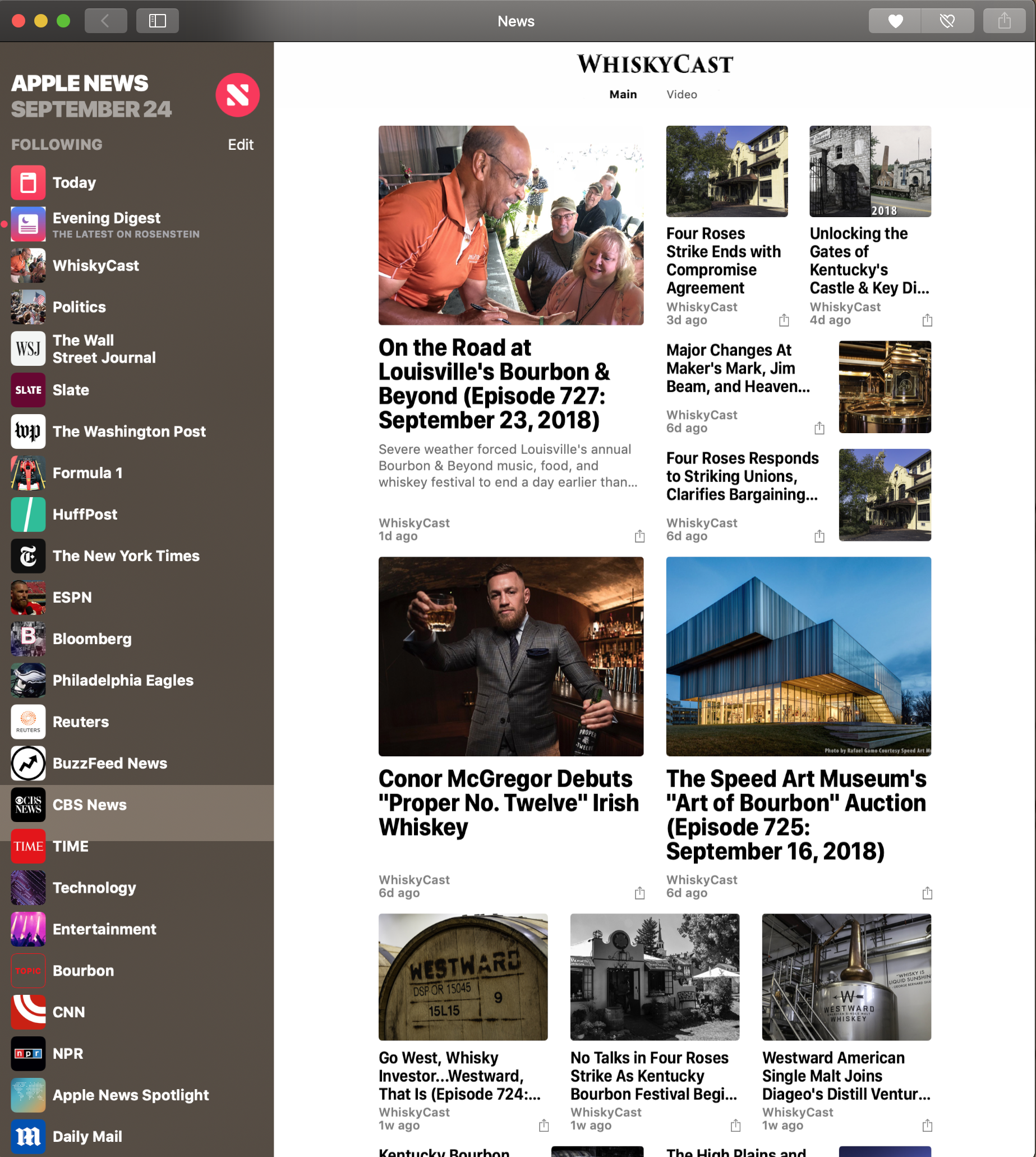 Mac users - #Mojave brings Apple News to your desktop, and that