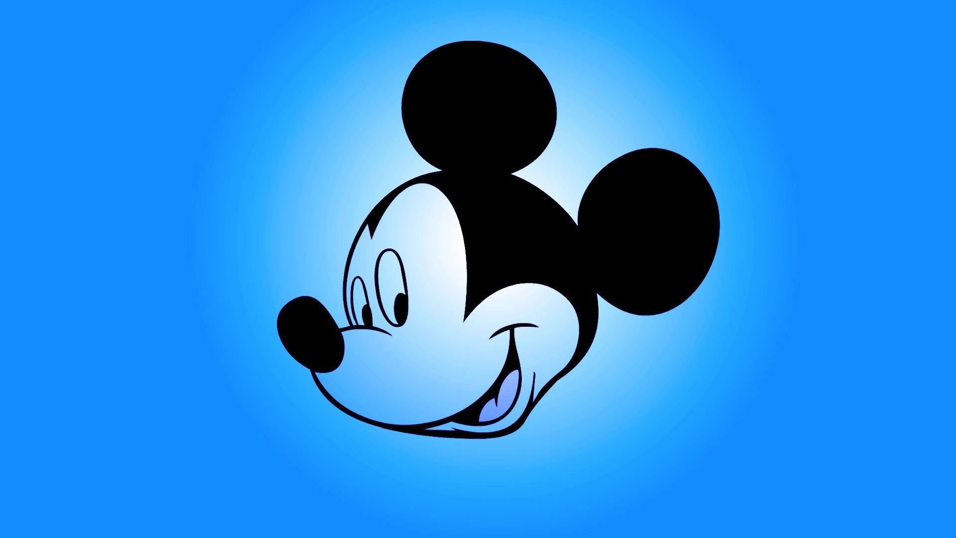 mickey mouse blue wallpaper