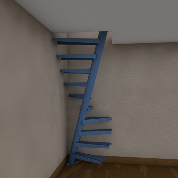 Compact Spiral Staircase: Staircase Design Philippines