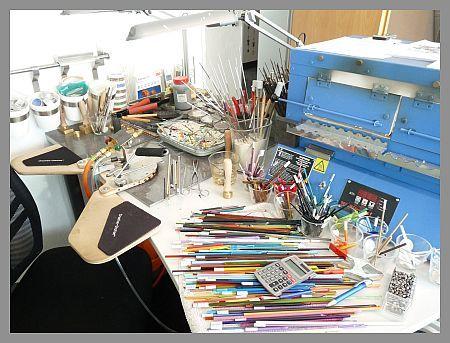 Handgefertigte Glasperlen, lampwork beads & Glasschmuck. - felirano - schmuck aus glas