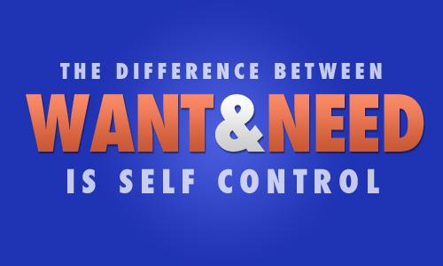 Want and need is self control. #fitness #p90x #motivation #juliomedina #beachbody #shakeology