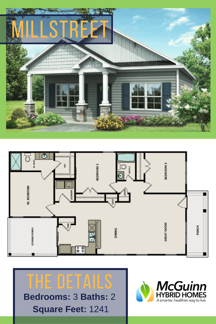 Do You Need A Simple Floor Plan Discover The Ease Of This Floor Plan That S Great For Any Growing Family W Simple Floor Plans Small House Plans House Layouts