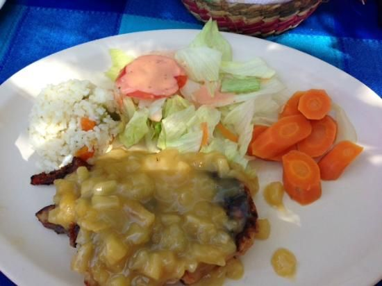 Shrimp meal selections at Jerry's OK Corral, our lunch stop with Tani Tours  |   Puerto Vallarta