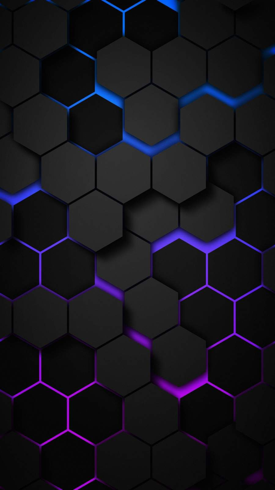 3D Hexagon IPhone Wallpaper - IPhone Wallpapers