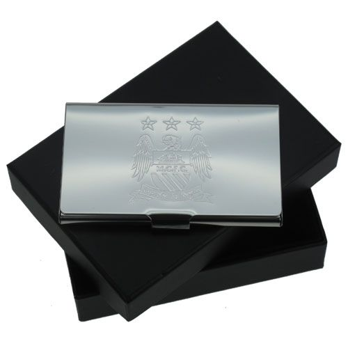 Personalised man city fc business card holder 1999 engraved personalised man city fc business card holder 1999 colourmoves
