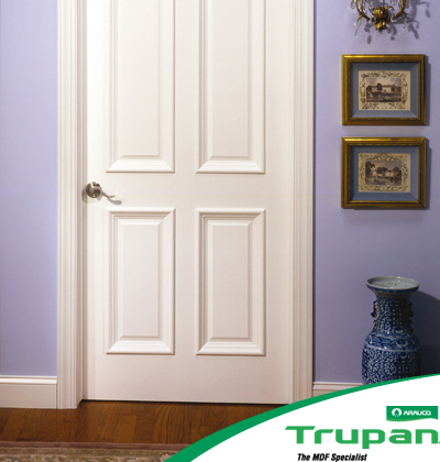 Arauco TRUPAN Ultralight MDF. Much lighter than standard MDF but with similar strength and machine-ability.