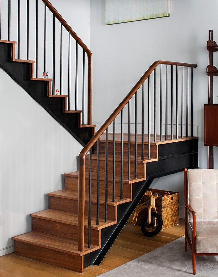 Ninth Avenue Duplex By Best Company Homeadore Stair Railing