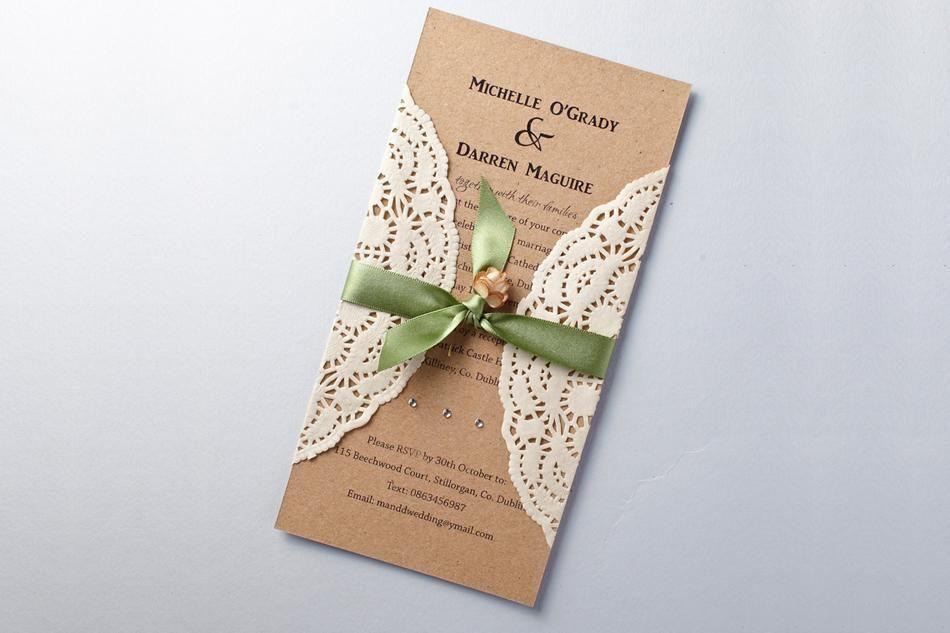 Handmade Rustic Wedding Invitations: Handmade Rustic Wedding Invitations E3rN3i6G5