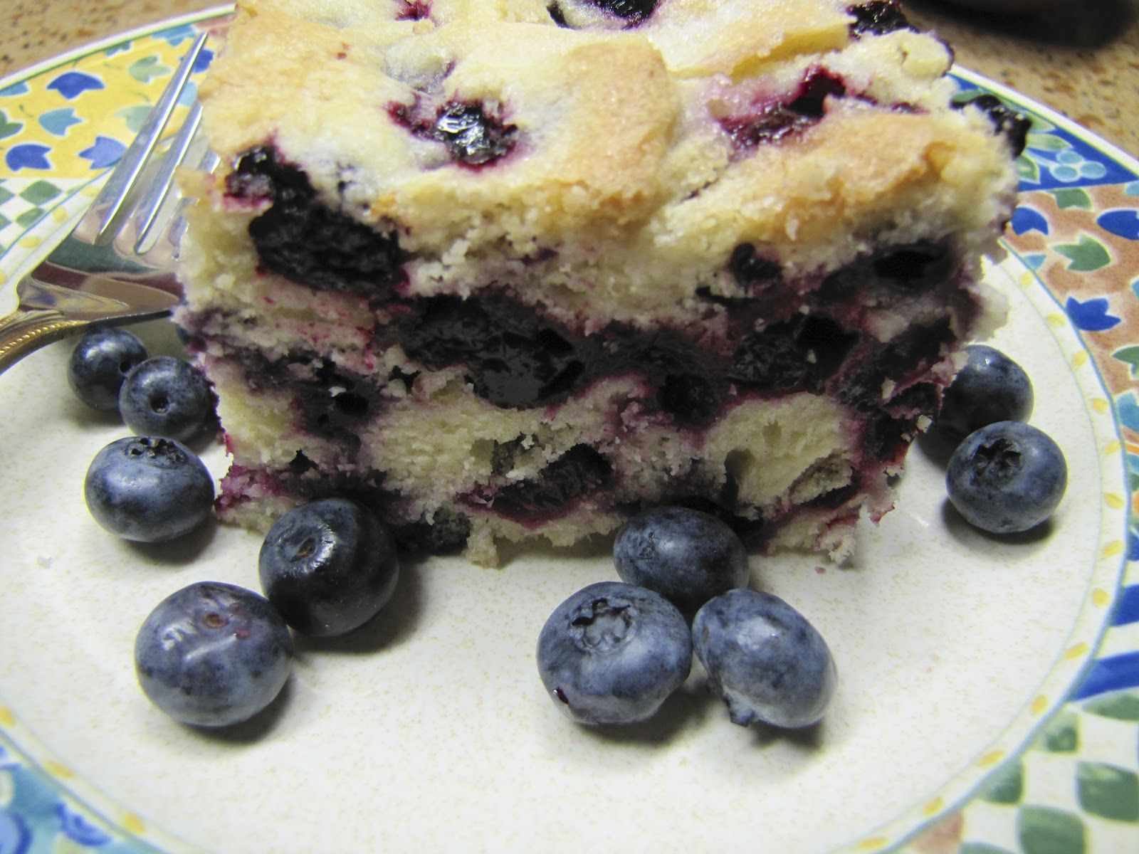 Canton Village Quilt Works: Buttermilk Blueberry Breakfast Cake